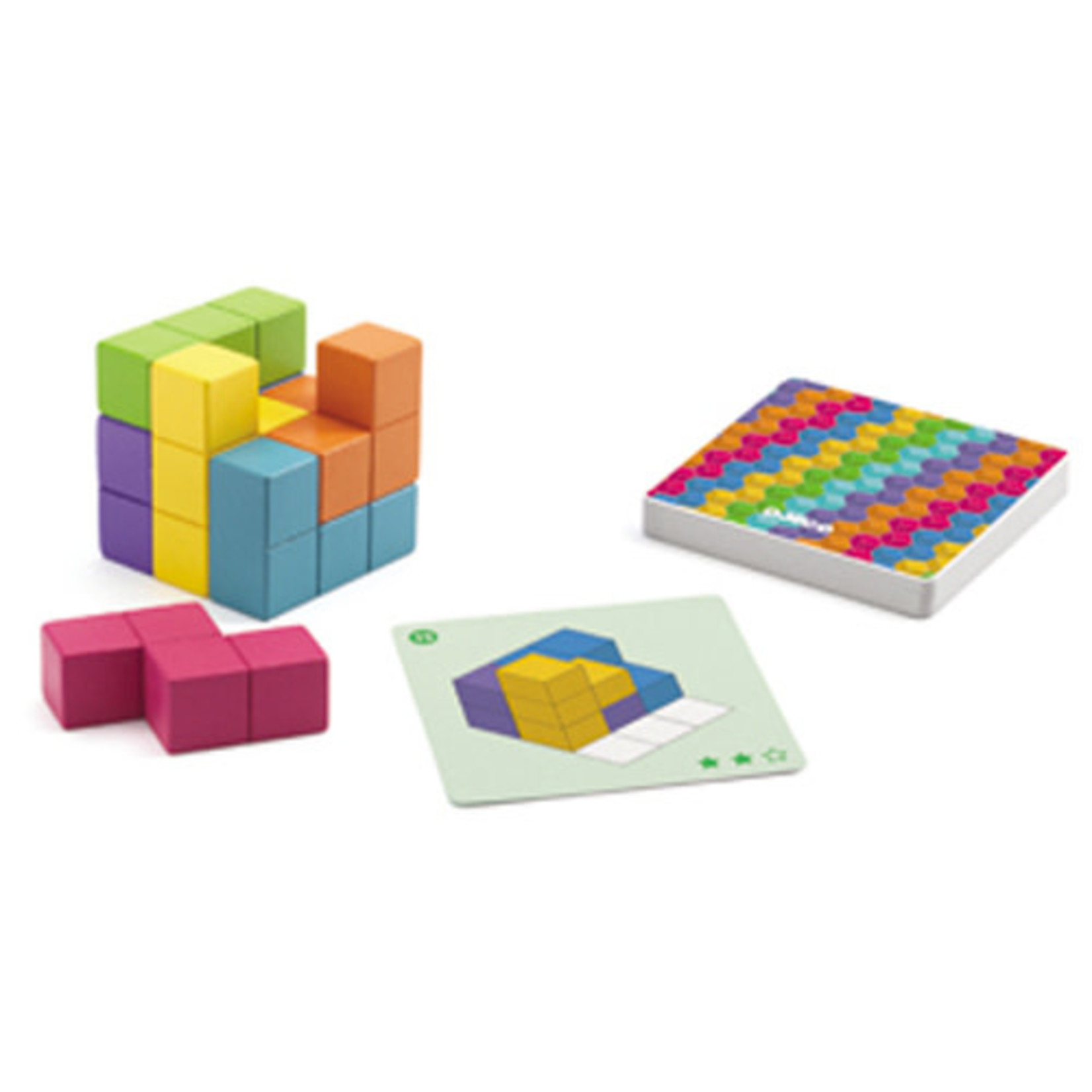 Djeco Cubissimo (Multilingue)