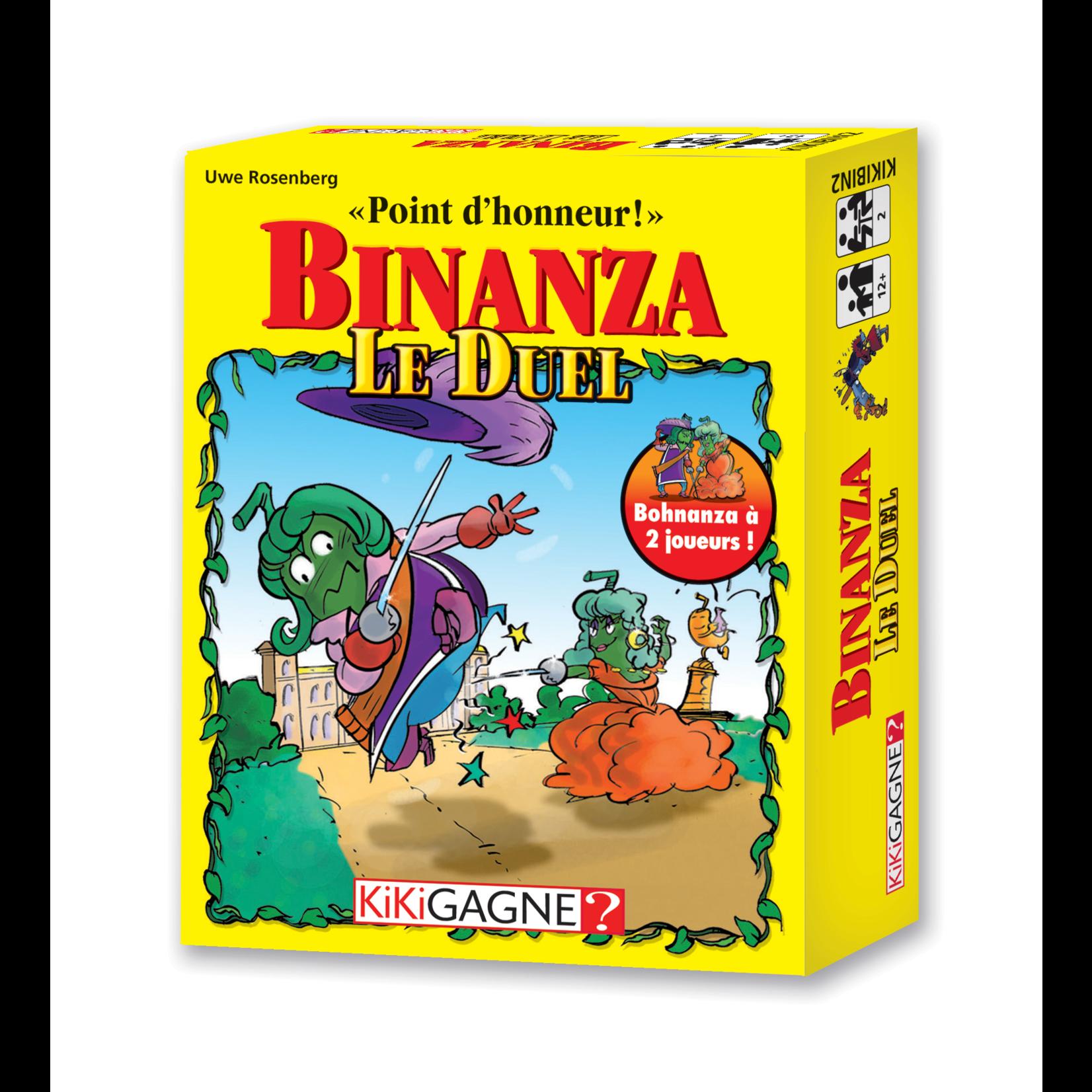 KikiGagne Binanza - Le Duel (French)