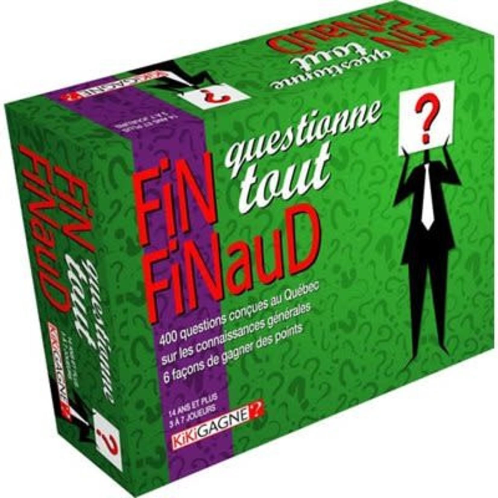 KikiGagne Fin finaud questionne tout (French)