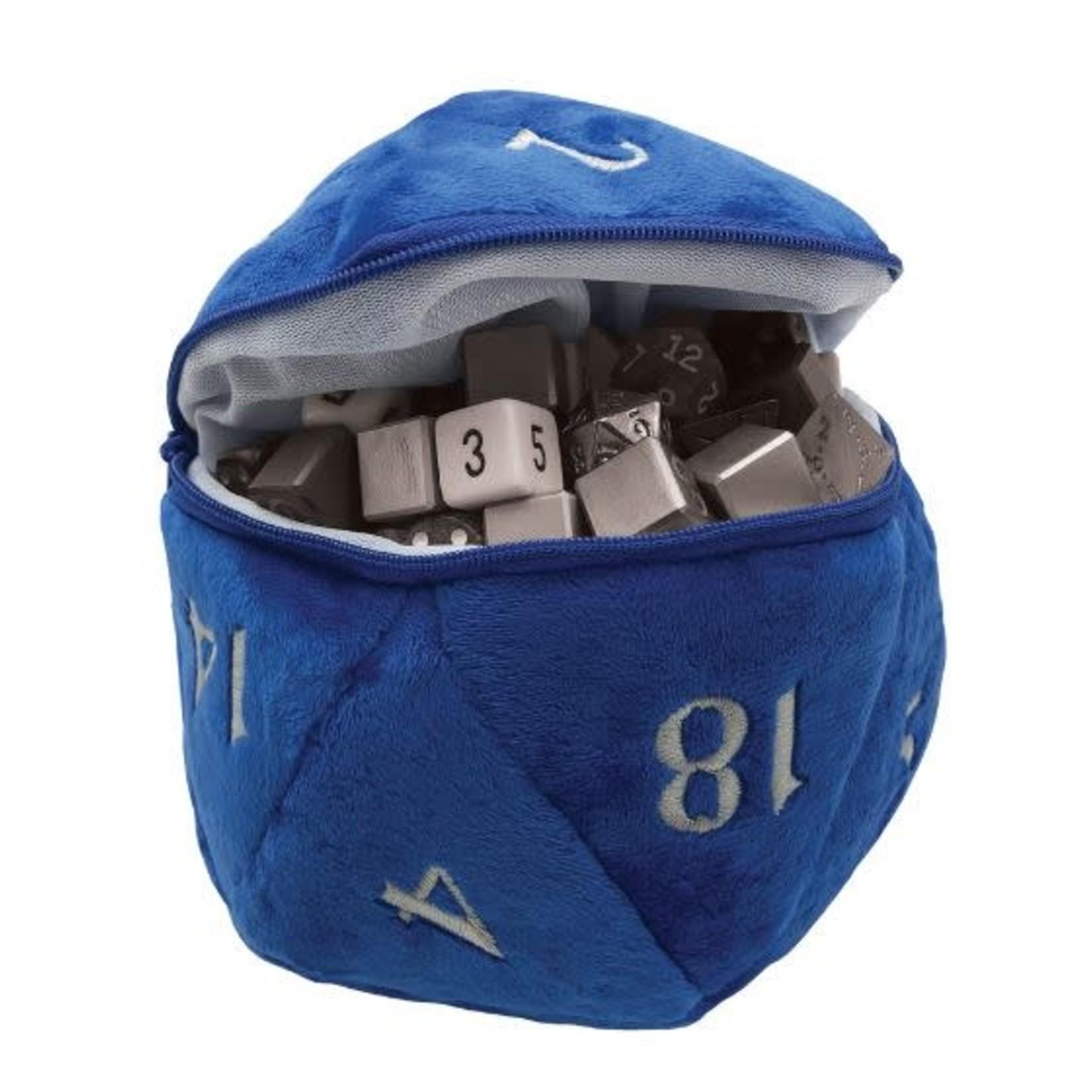 Ultra Pro Dice Bag D20 Blue Plush