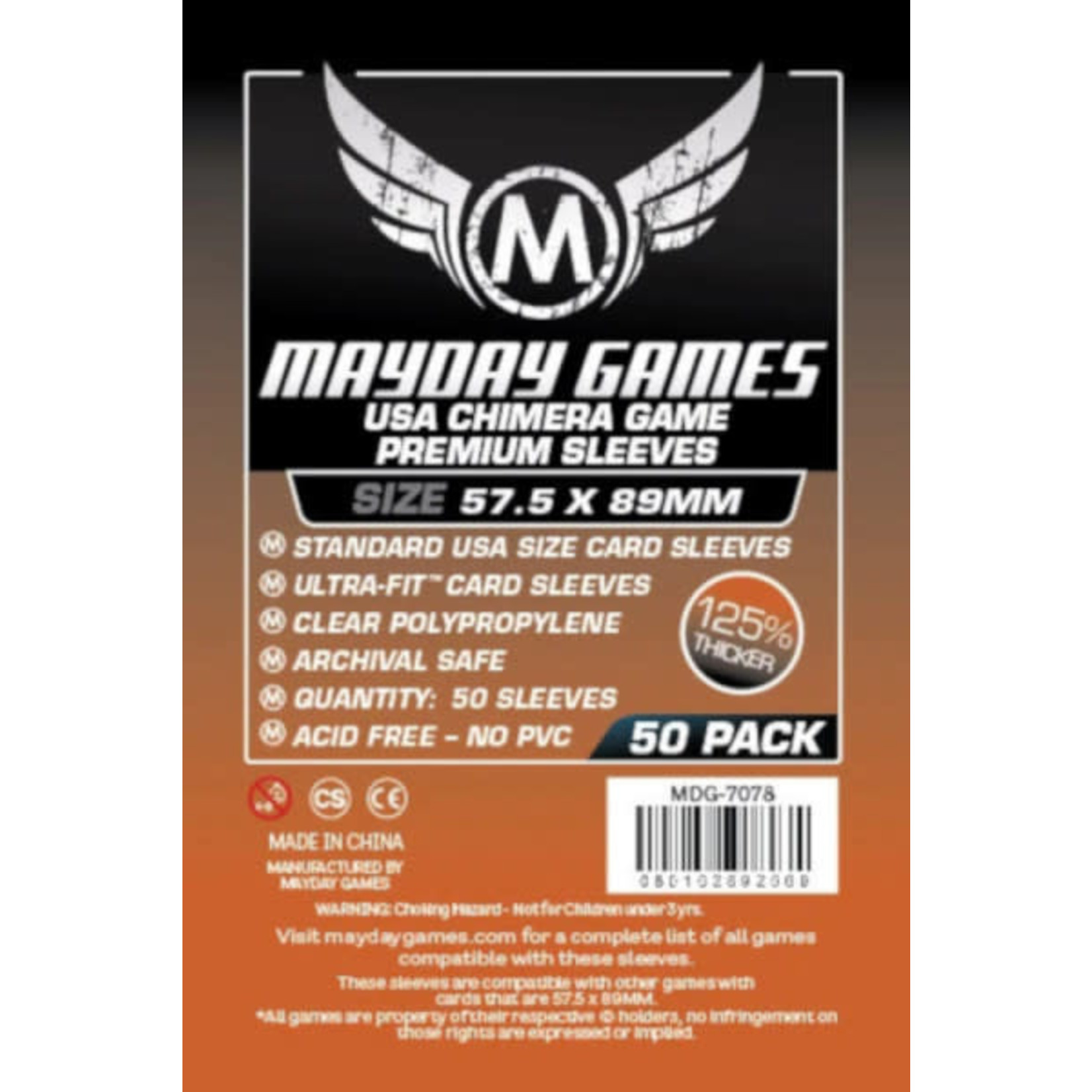 Mayday Mayday 57.5X89 Premium 50 pack