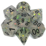 Metallic Dice Game Opale glace: Crystal Givre