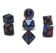 Set 7D Gemini Blue-Purple/Gold
