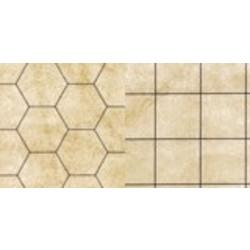 Battlemat reversible (23.5'' x 26)
