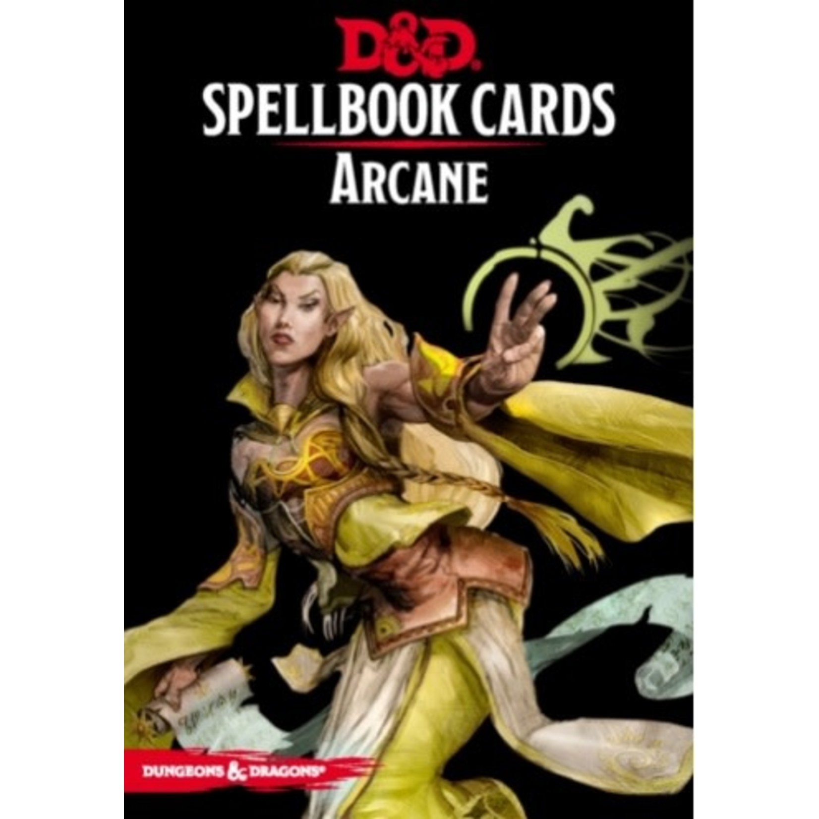 Wizard Of The Coast D&D Spellbook Cards Arcane (French)