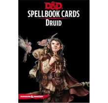 D&D Spellbook Cards Druide (French)