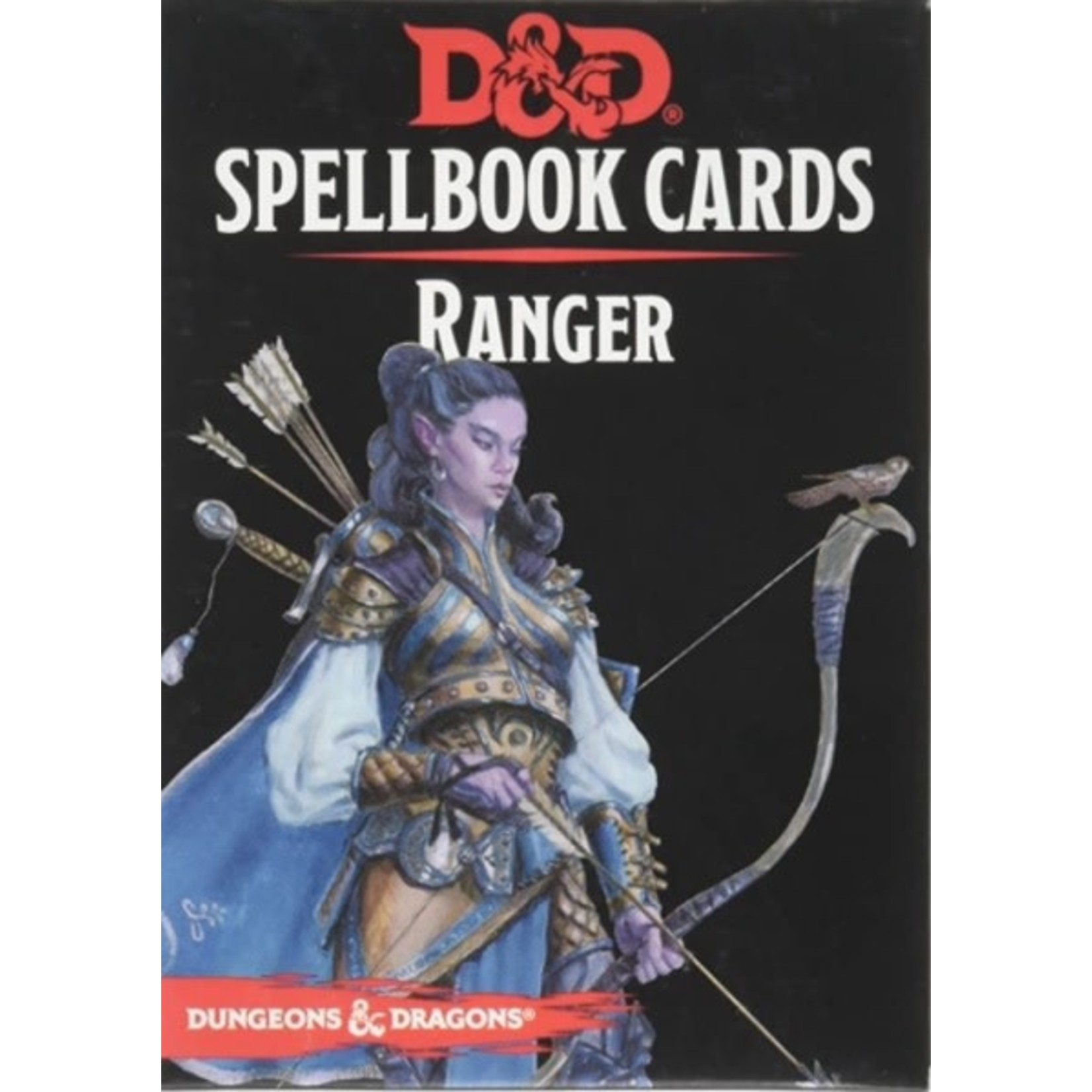 Wizard Of The Coast D&D Spellbook Cards Ranger (French)