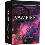 Vampire the Masquerade - Discipline & Blood Magic Cards