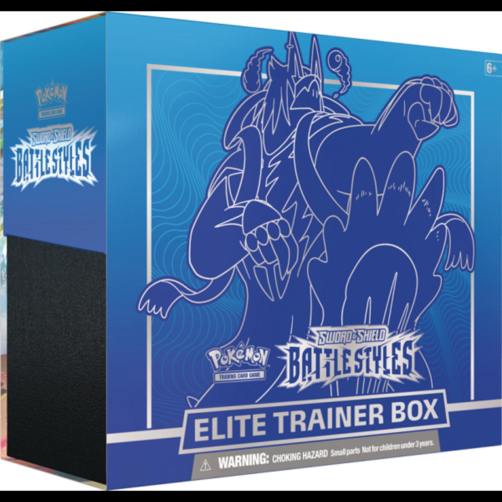Pokemon Pokemon Battle Styles Elite Trainer Box
