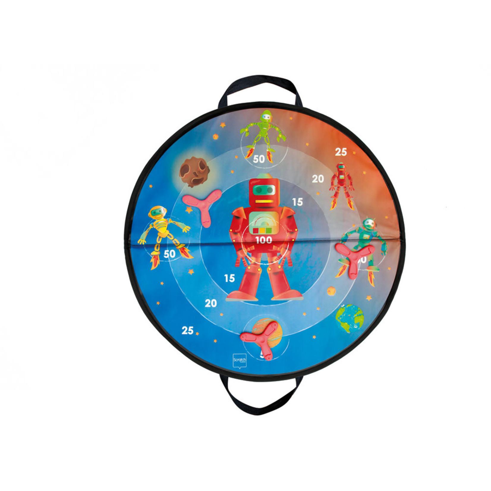 Scratch Jeu de Dards Magnétiques Espace