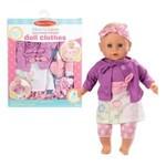 Melissa & Doug Vêtements de poupée rose