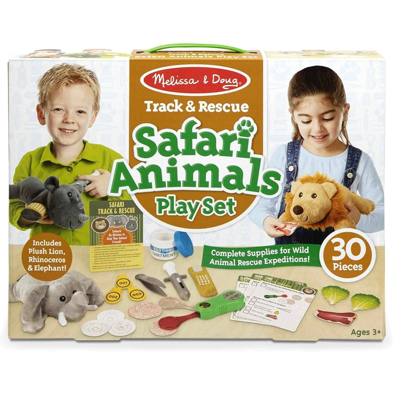 Melissa & Doug Safari Animal Play Set