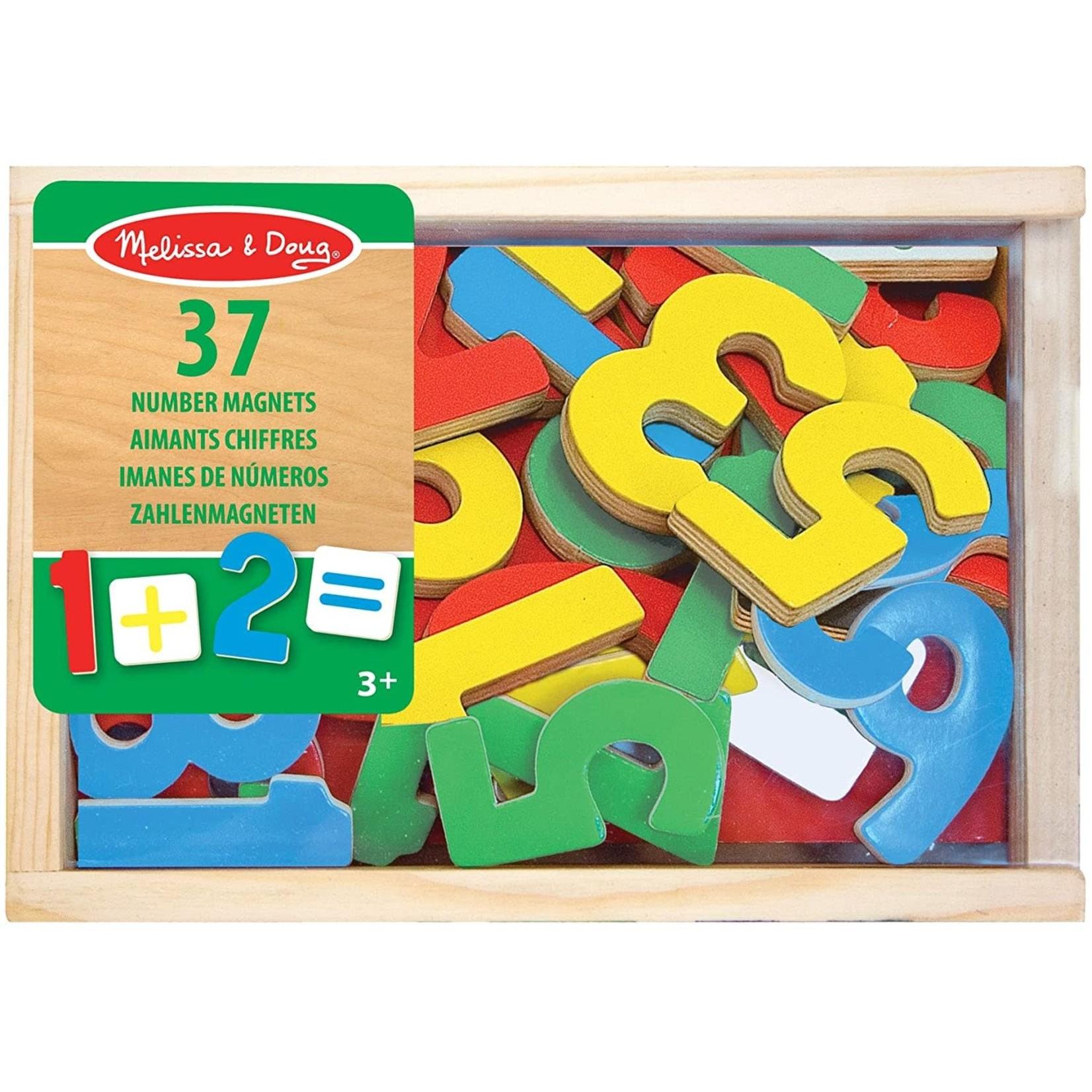 Melissa & Doug Wooden Number Magnets