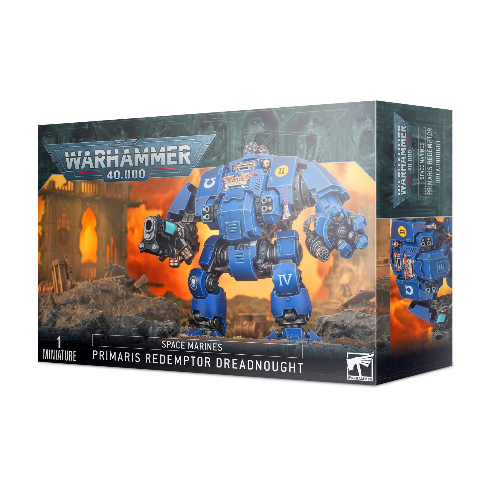 Warhammer 40K Space Marines - Primaris Redempttor Dreadnought