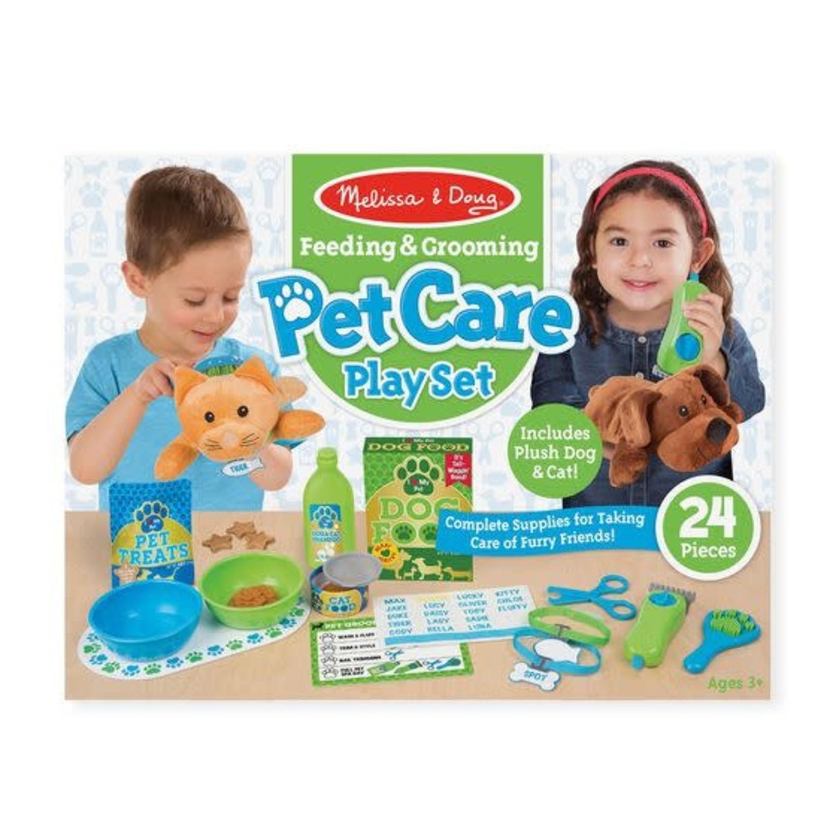 Melissa & Doug Pet Care/Pet Grooming Play Set