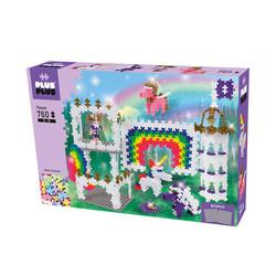 Plus Plus Mini Pastel Rainbow Castle 760