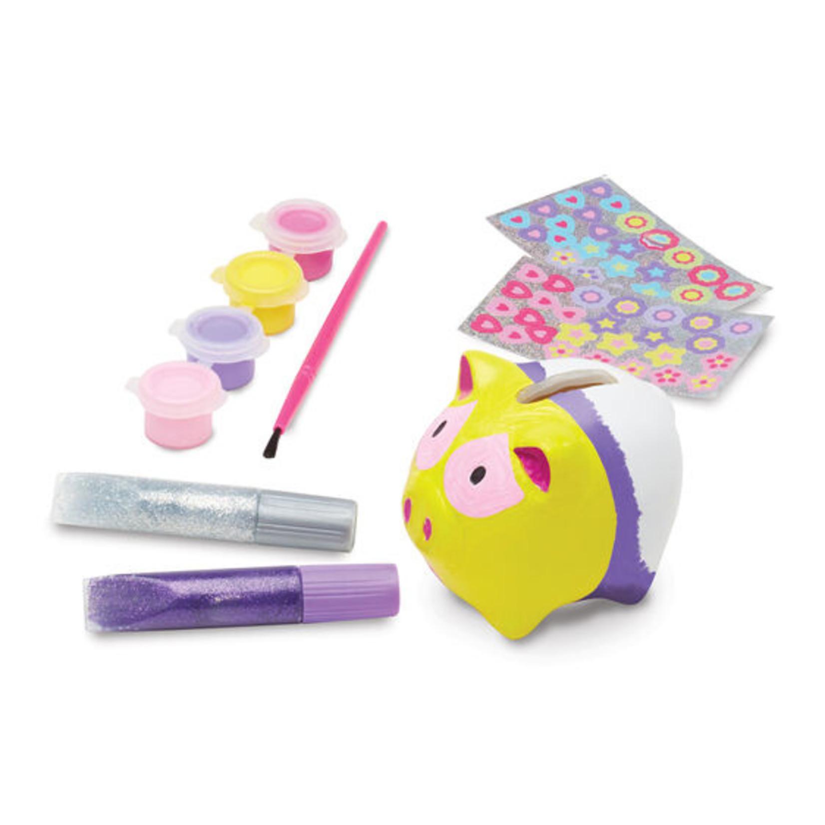 Melissa & Doug Created by Me! Piggy Bank Craft Kit
