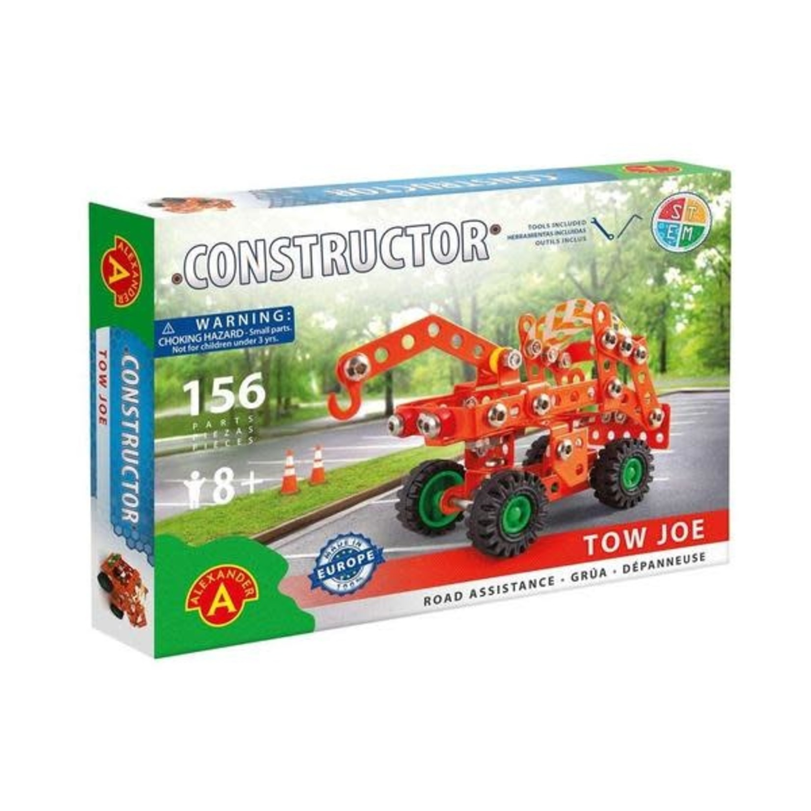 Alexander Constructor : Tow Joe Pick Up