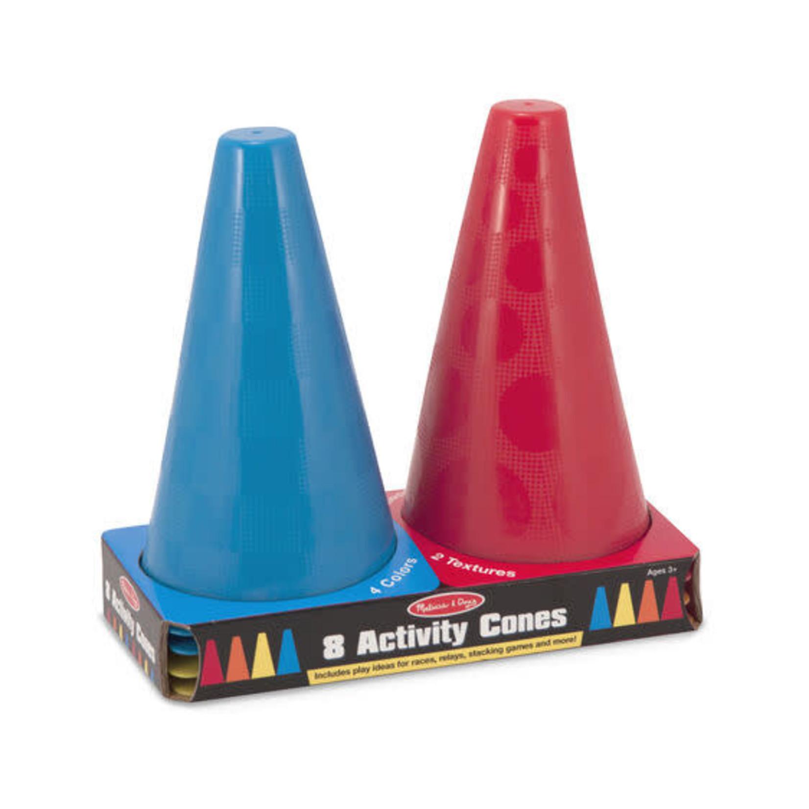 Melissa & Doug Set of 8 Activity Cones