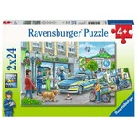 Ravensburger On the way with the Chief of Police