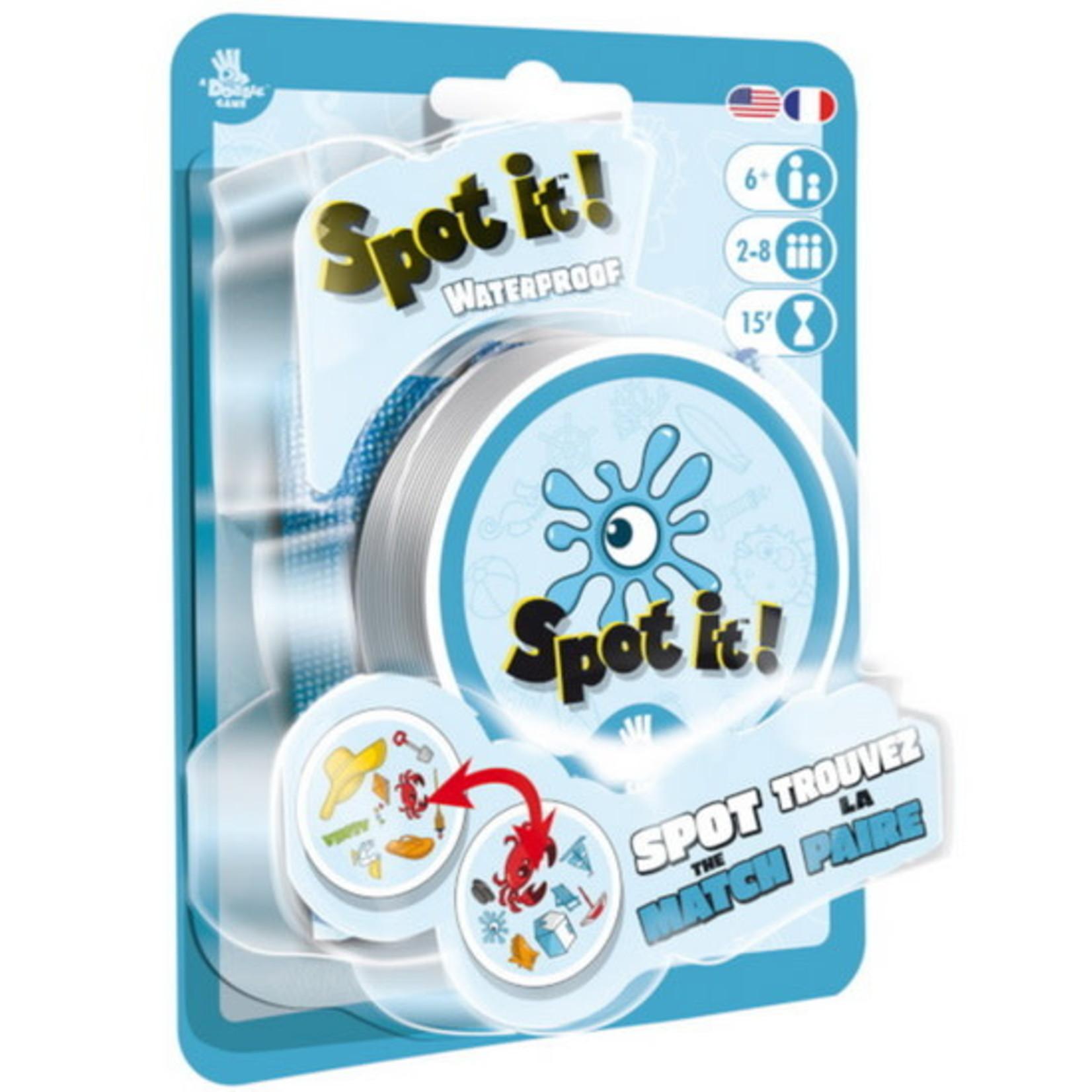 Spot it / Dobble : Waterproof (Multilingual)