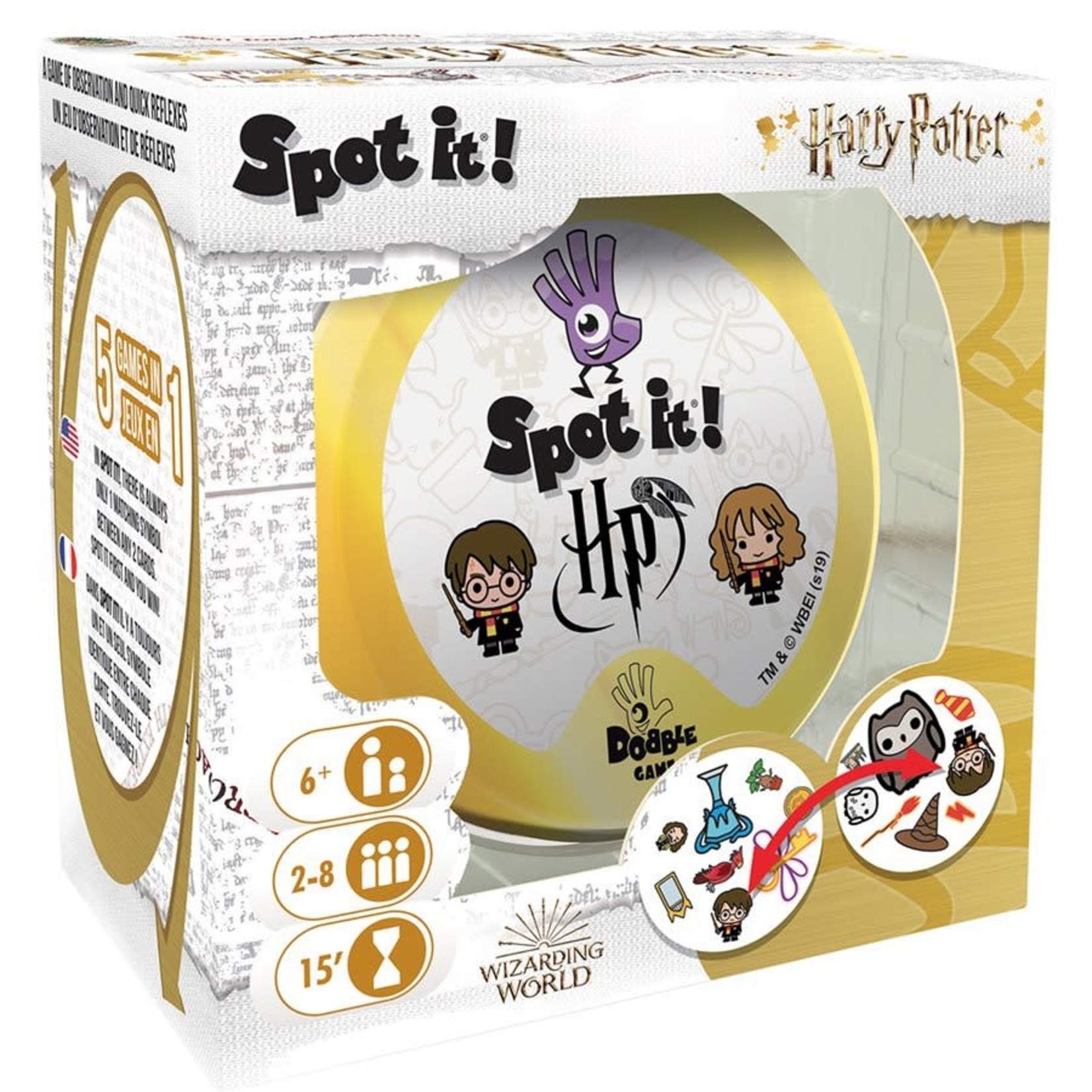 Spot-it/Dobble Harry Potter (Multilingual)