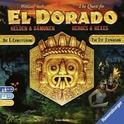 The Quest for El Dorado - Heroes & Hexes (English)