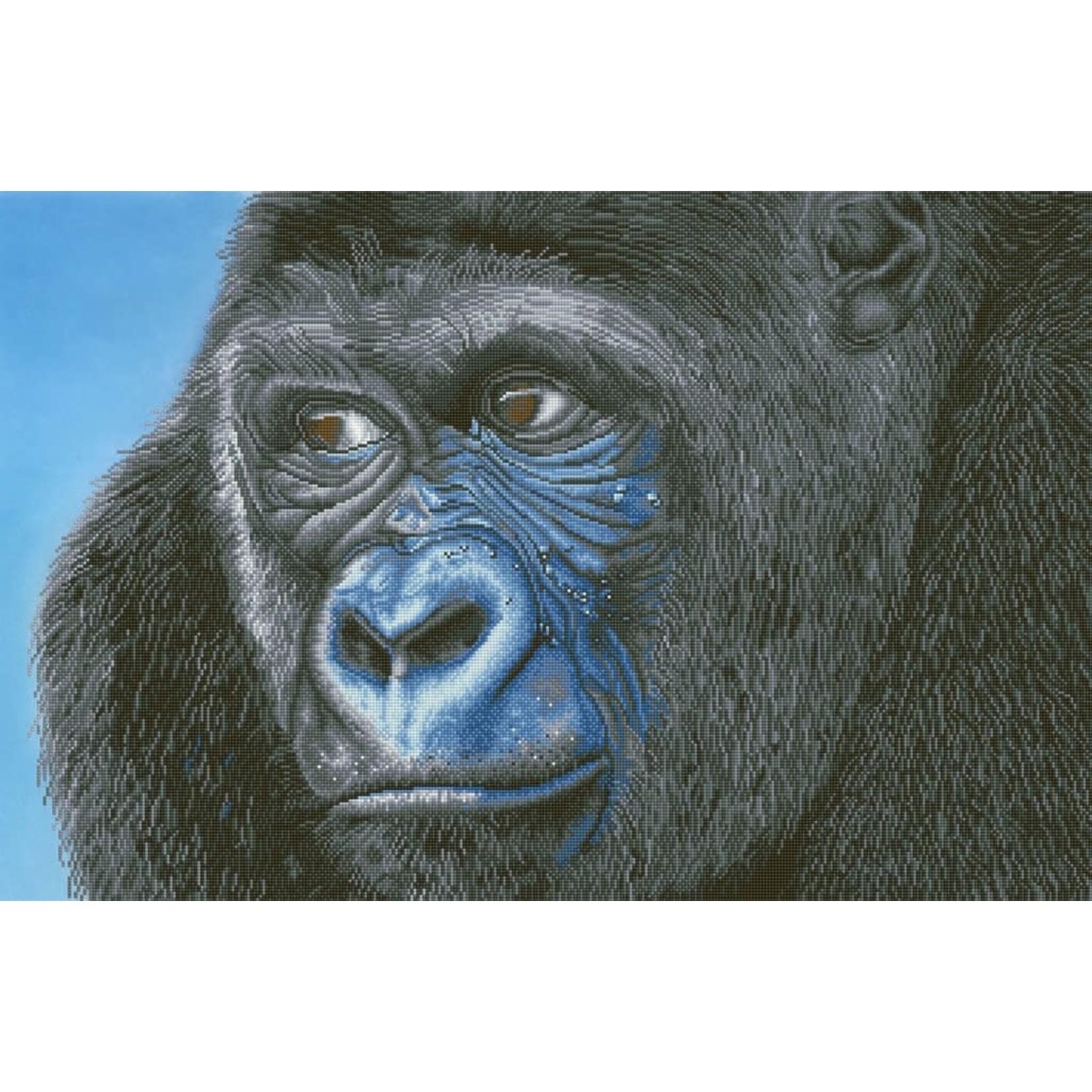 Diamond Dotz Diamond Dotz - Kibali Western Lowland Gorilla