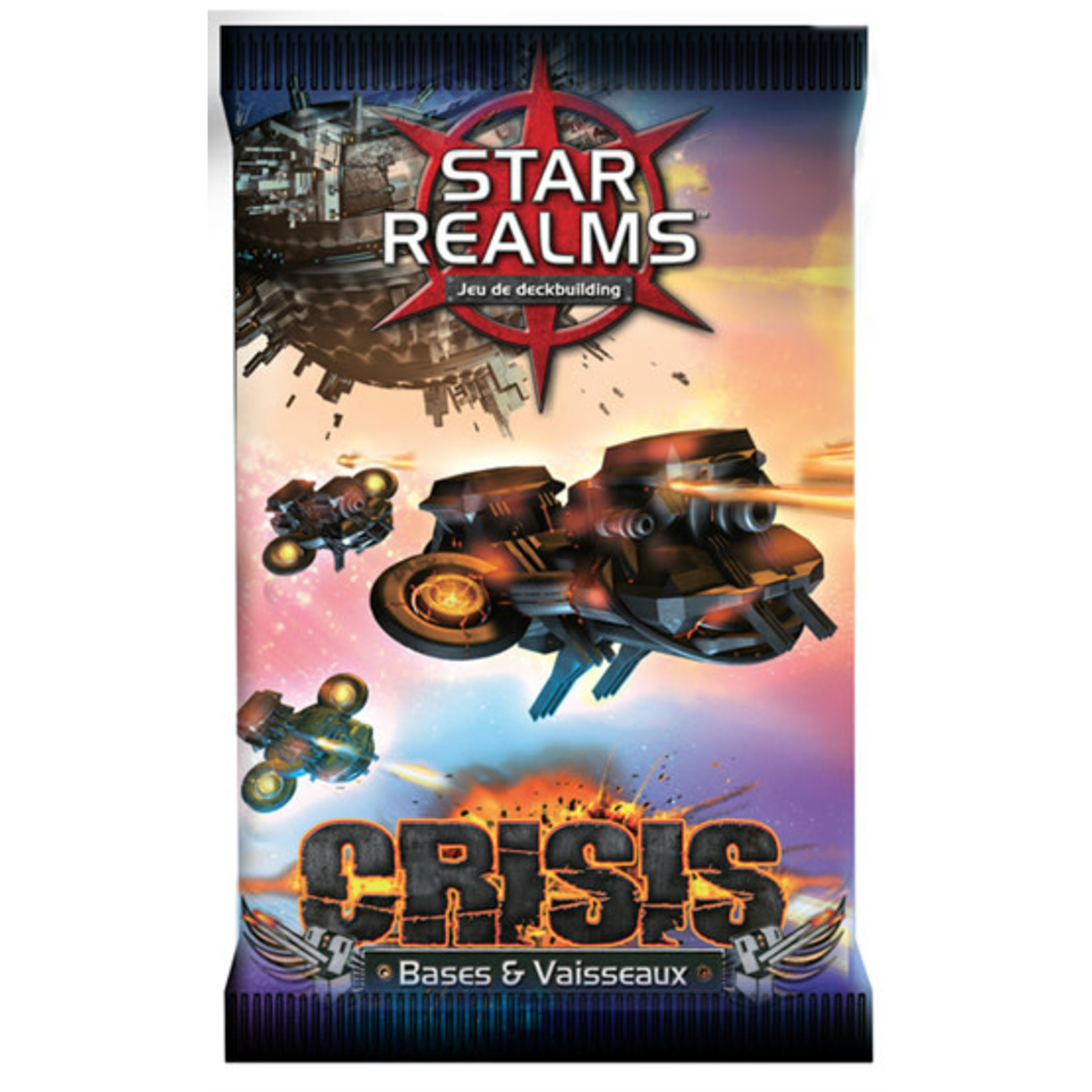 Iello Star Realms Crisis Bases & Vaisseaux (French)