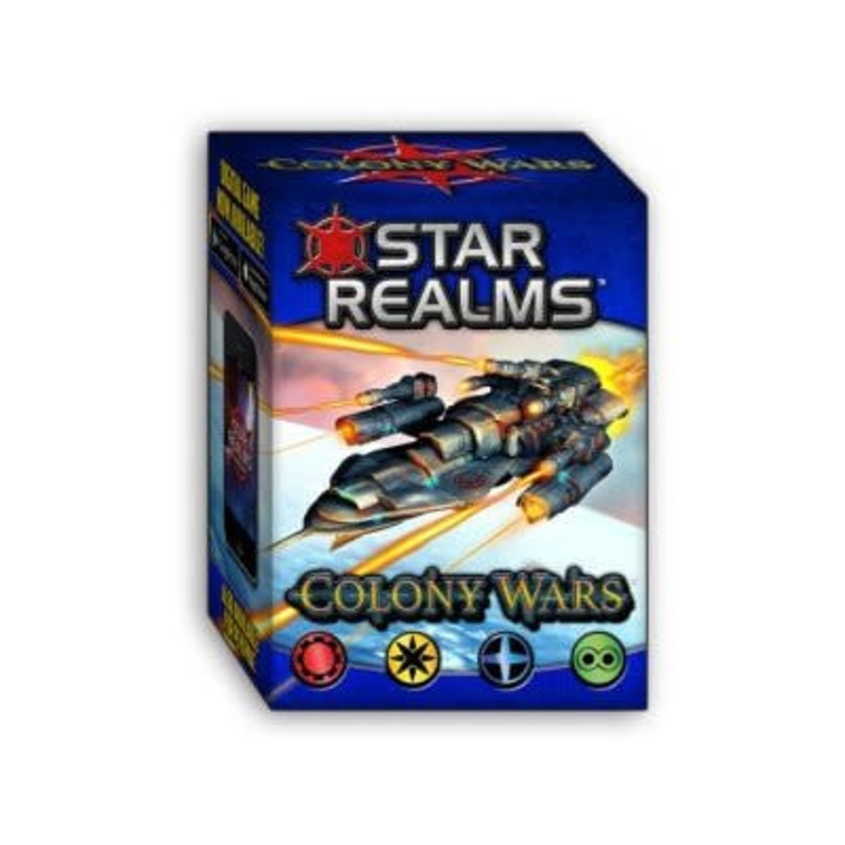 Iello Star Realms Extension Colony Wars (French)