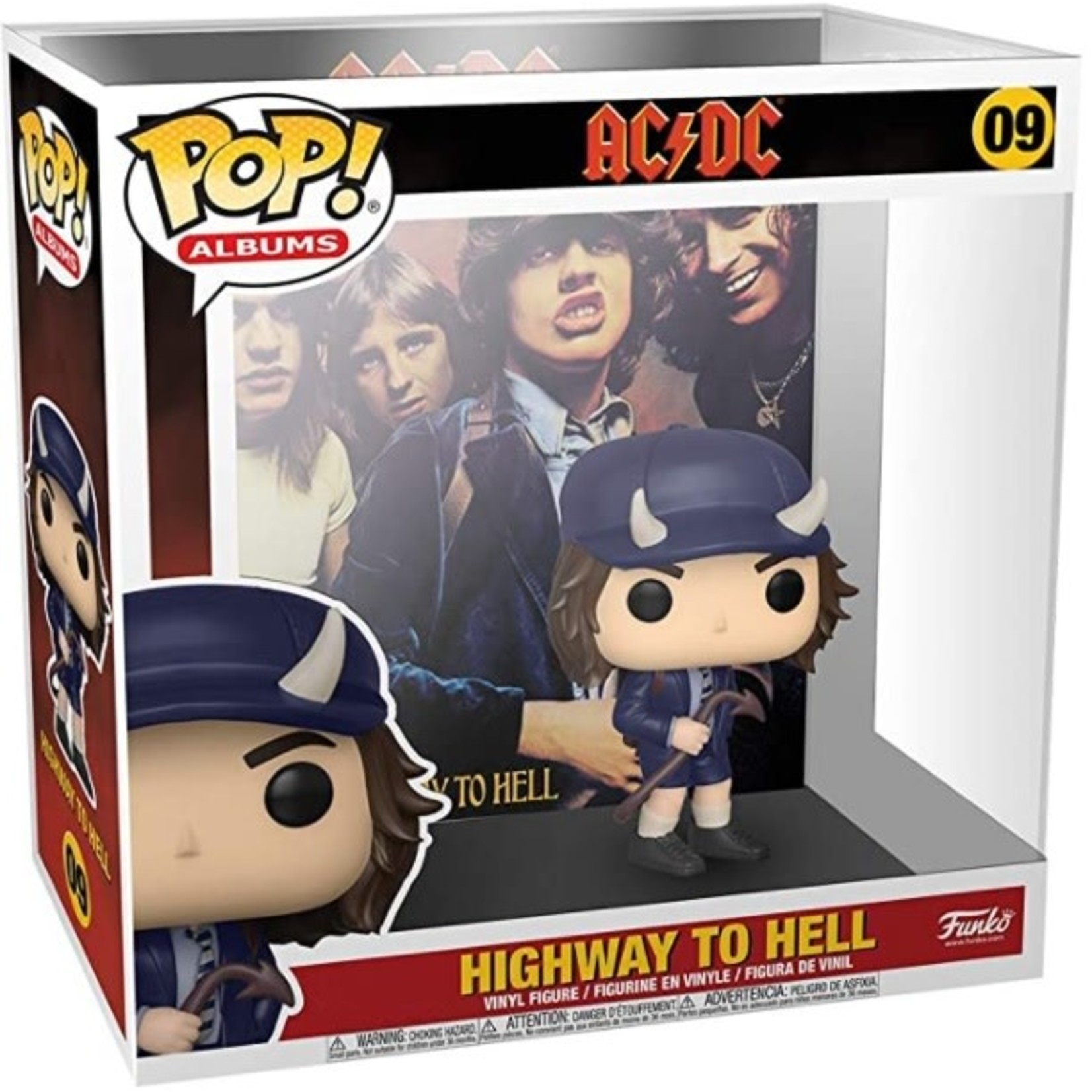 Funko Pop! POP! Albums AC/DC - Highway to Hell