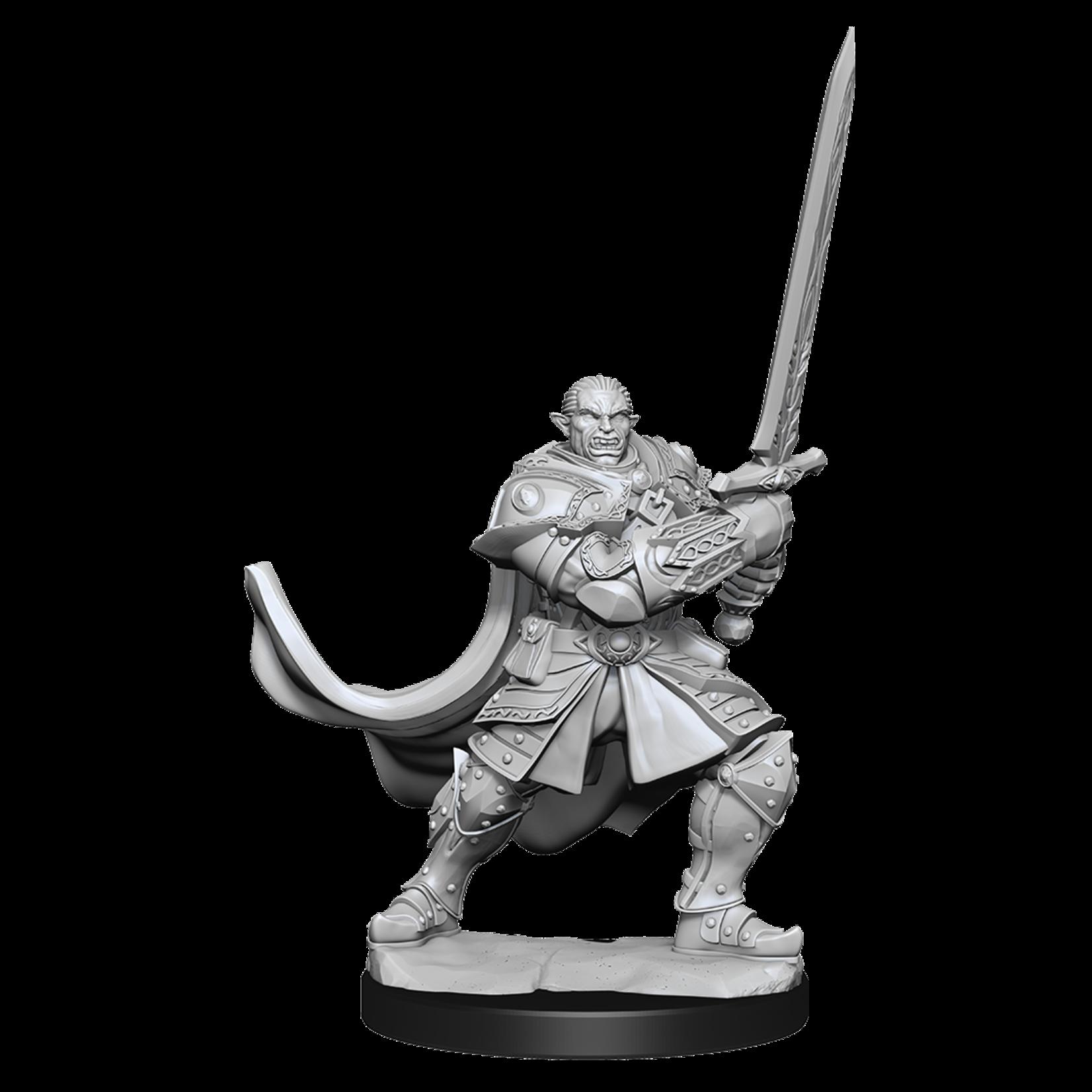 Wizkids Half-Orc Paladin Male