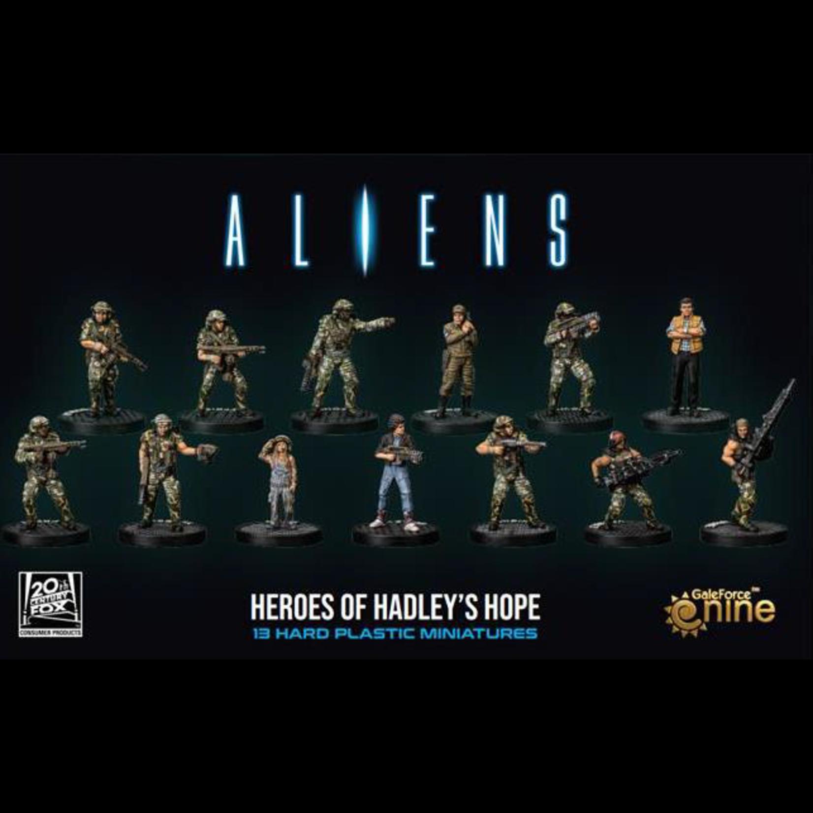 Gale Force 9 Alien Heroes of Hadley's Hope