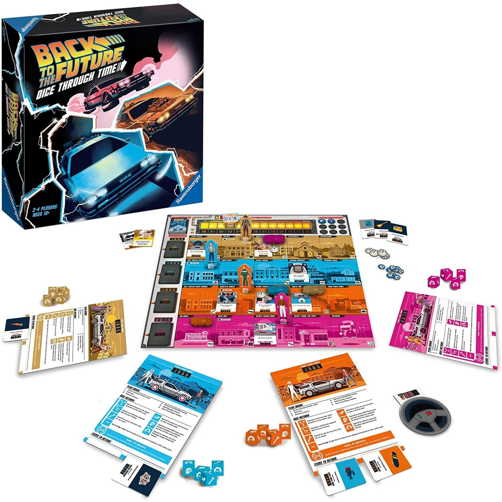 Ravensburger Back to the Future Dice Through Time