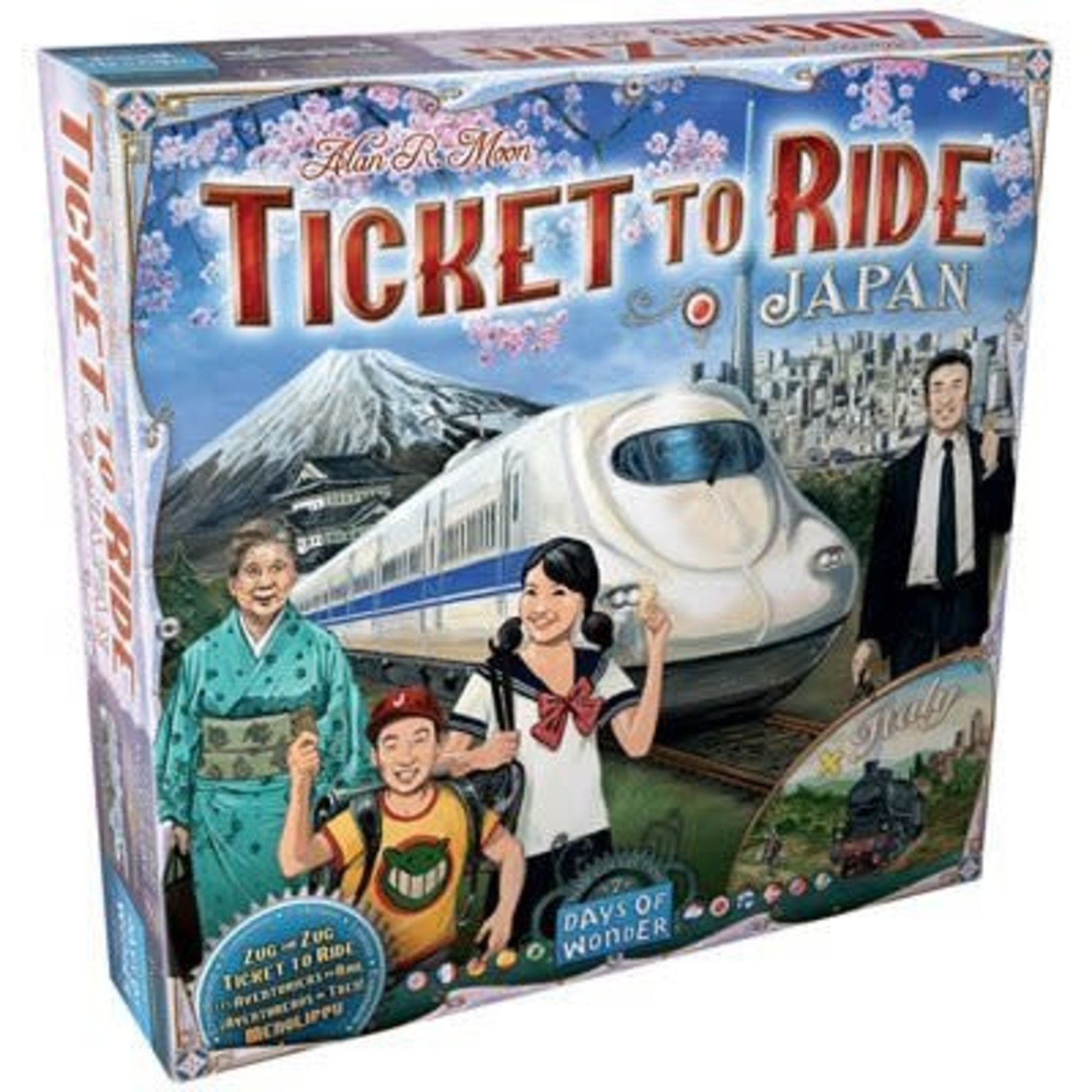 Days Of Wonder Ticket to Ride - Japan & Italy