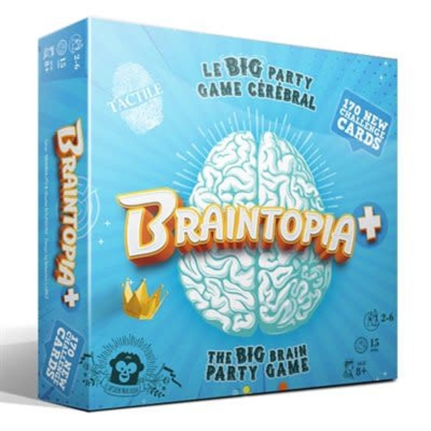 Captain Macaque Braintopia +