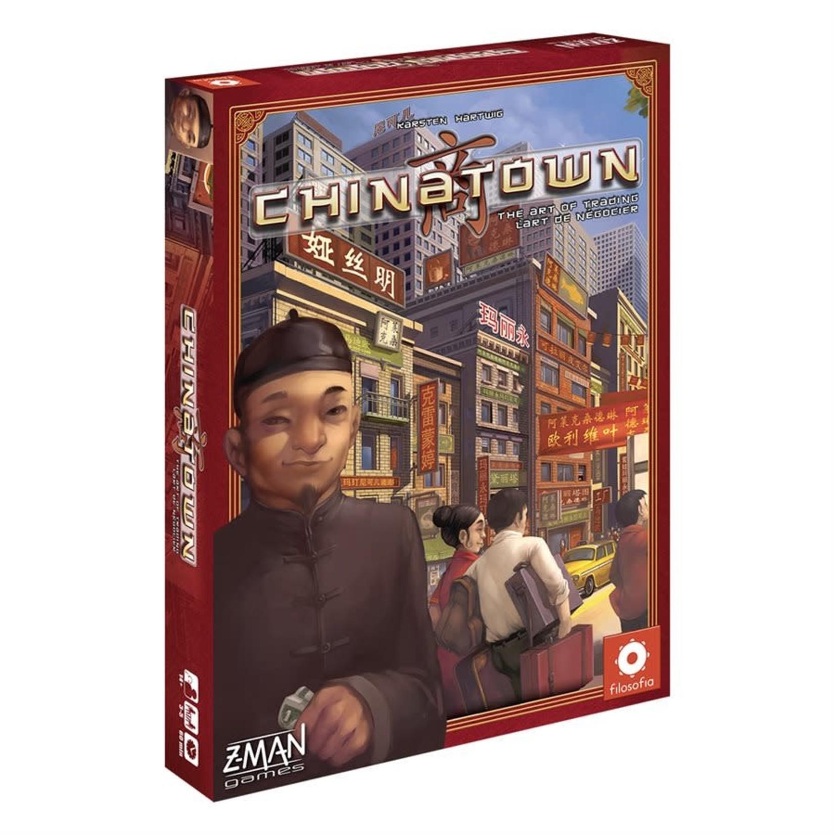 Z-MAN Games Chinatown (Multilingue)