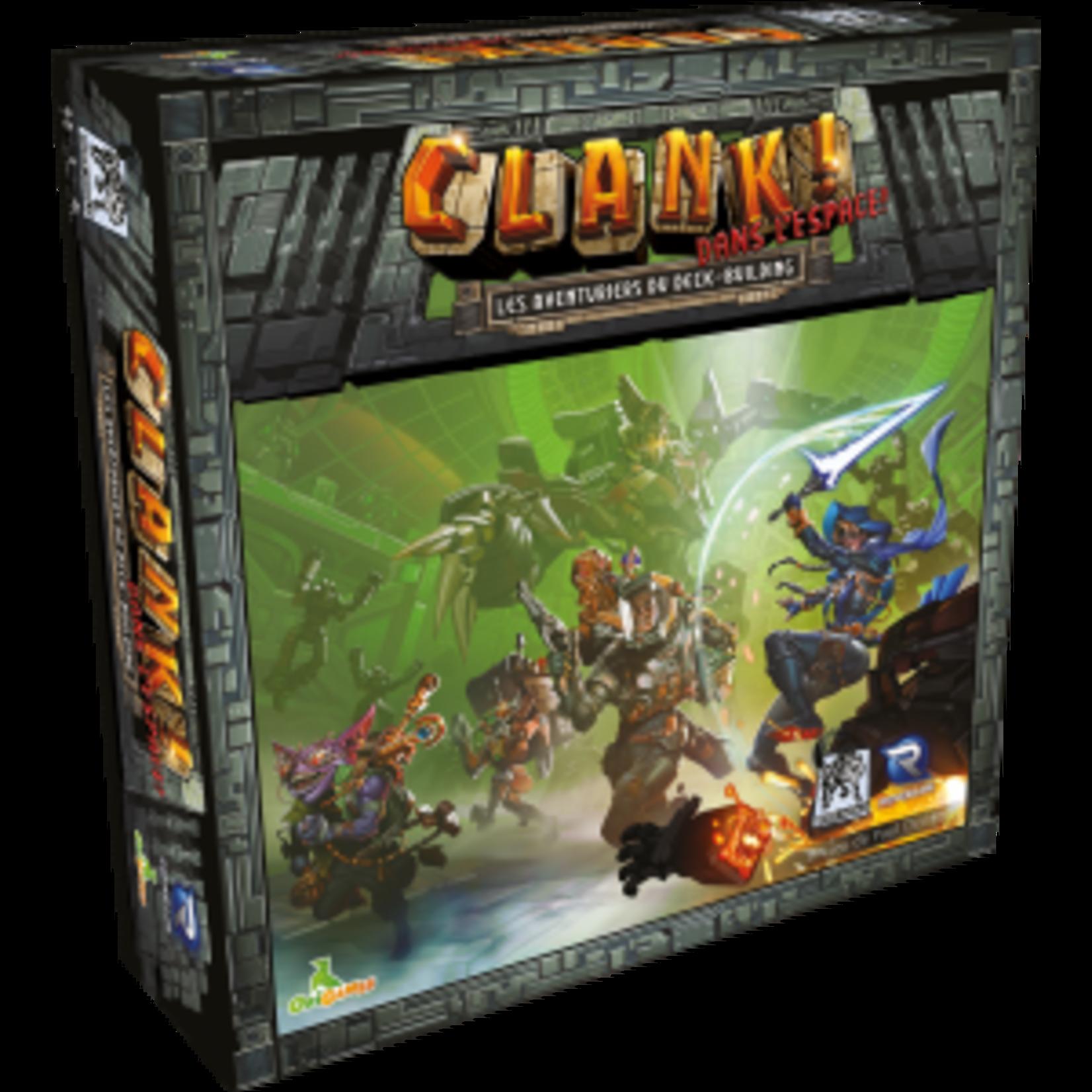 Origames Clank! Dans l'espace (Francais)