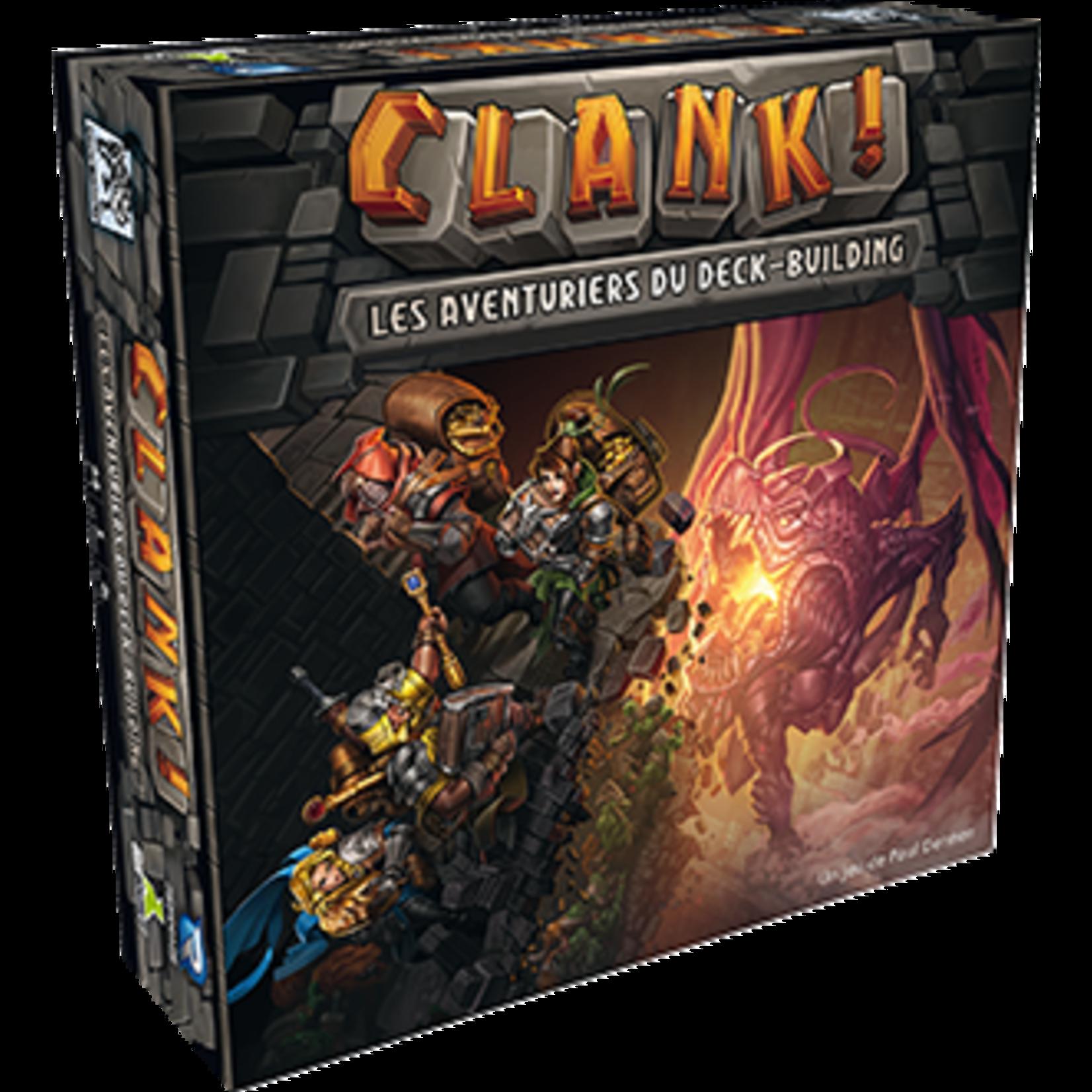 Renegade Clank : Les aventuriers du Deck-building (Fr)