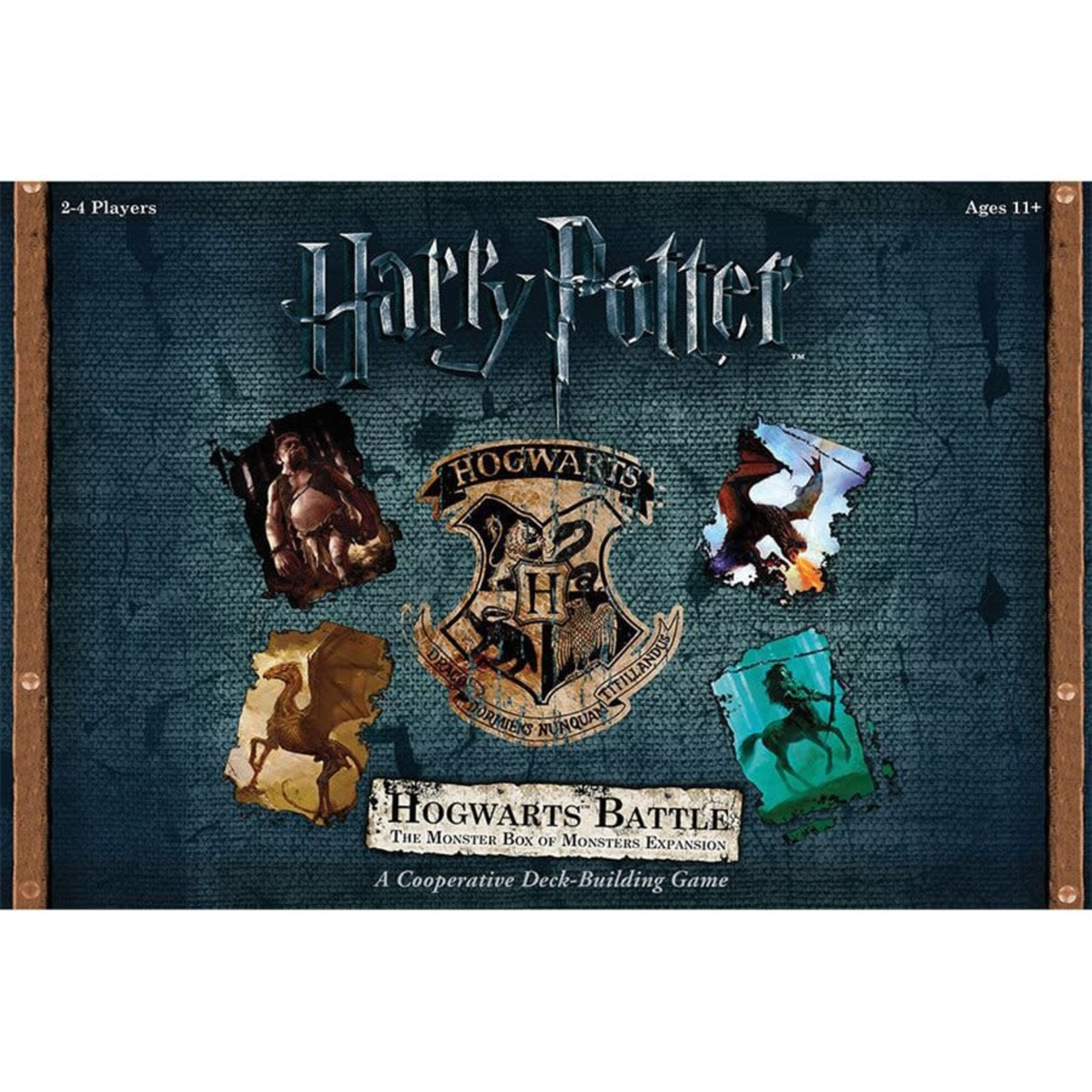 USAopoly Harry Potters Hogwarts Battle : The Monster box of Monsters