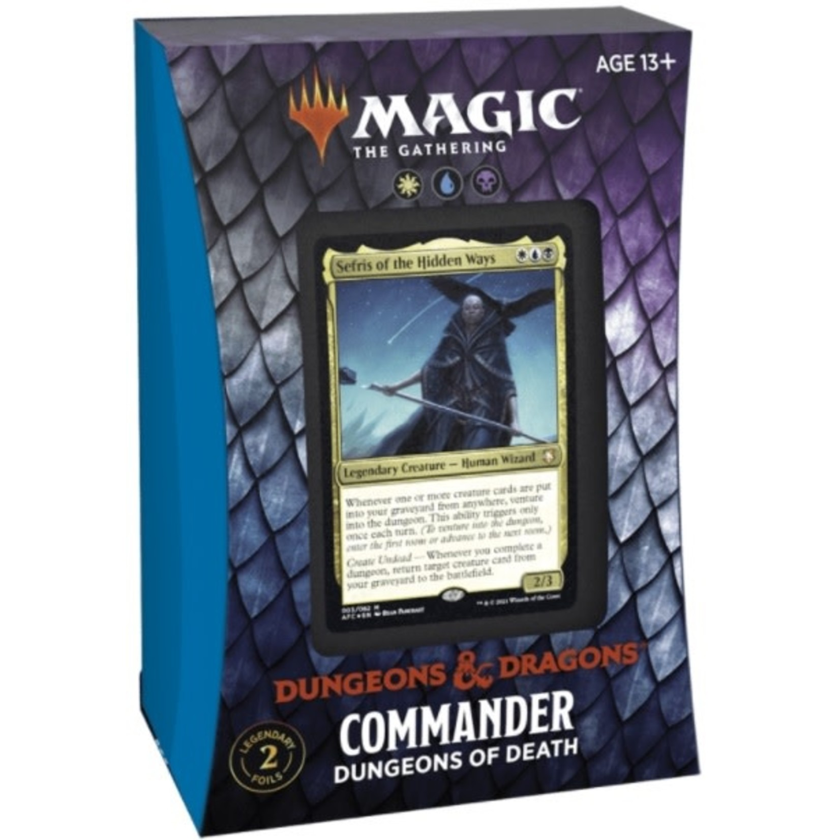 Magic The Gathering Magic The Gathering D&D Commander Dungeons of Death
