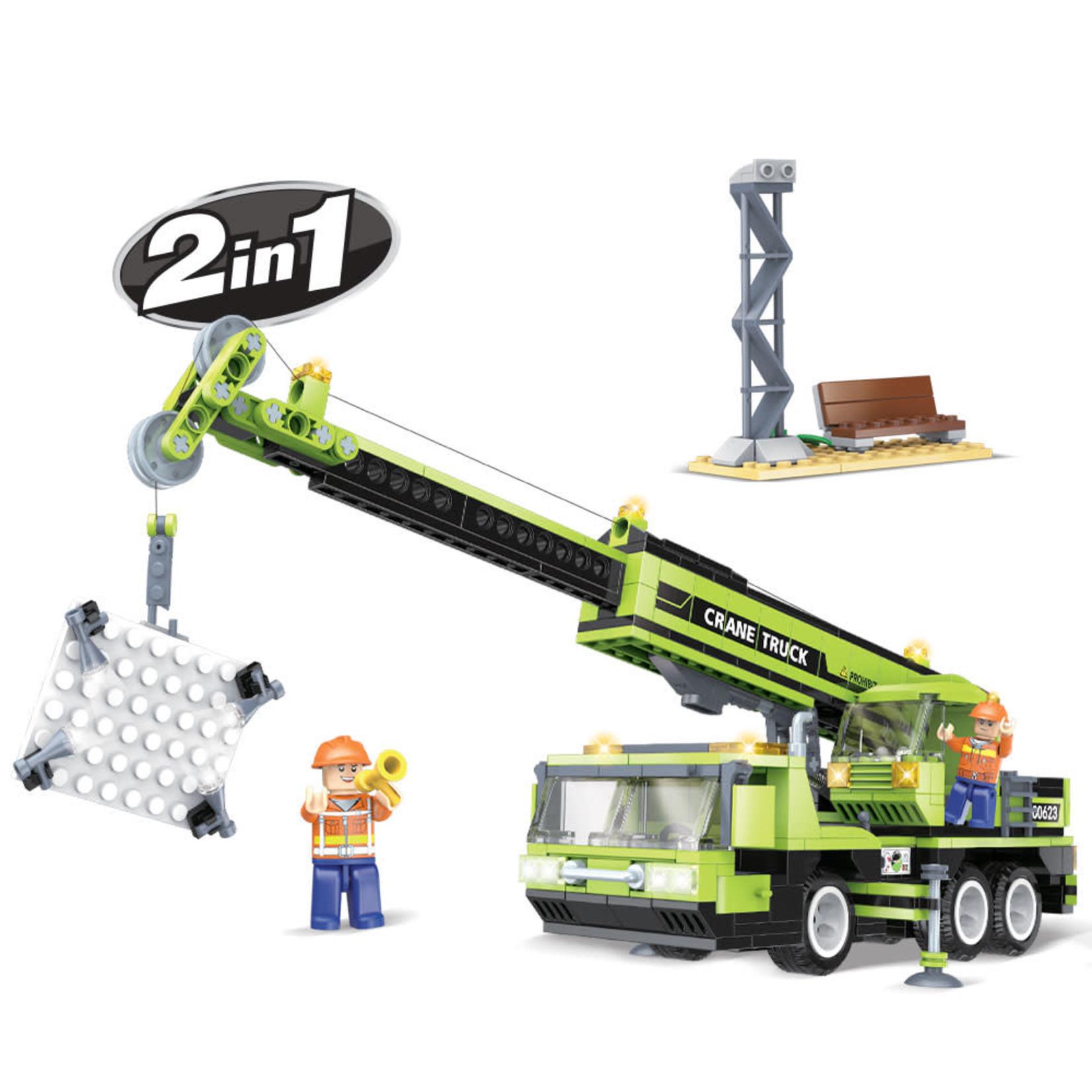 Brictek Construction - Crane Truck