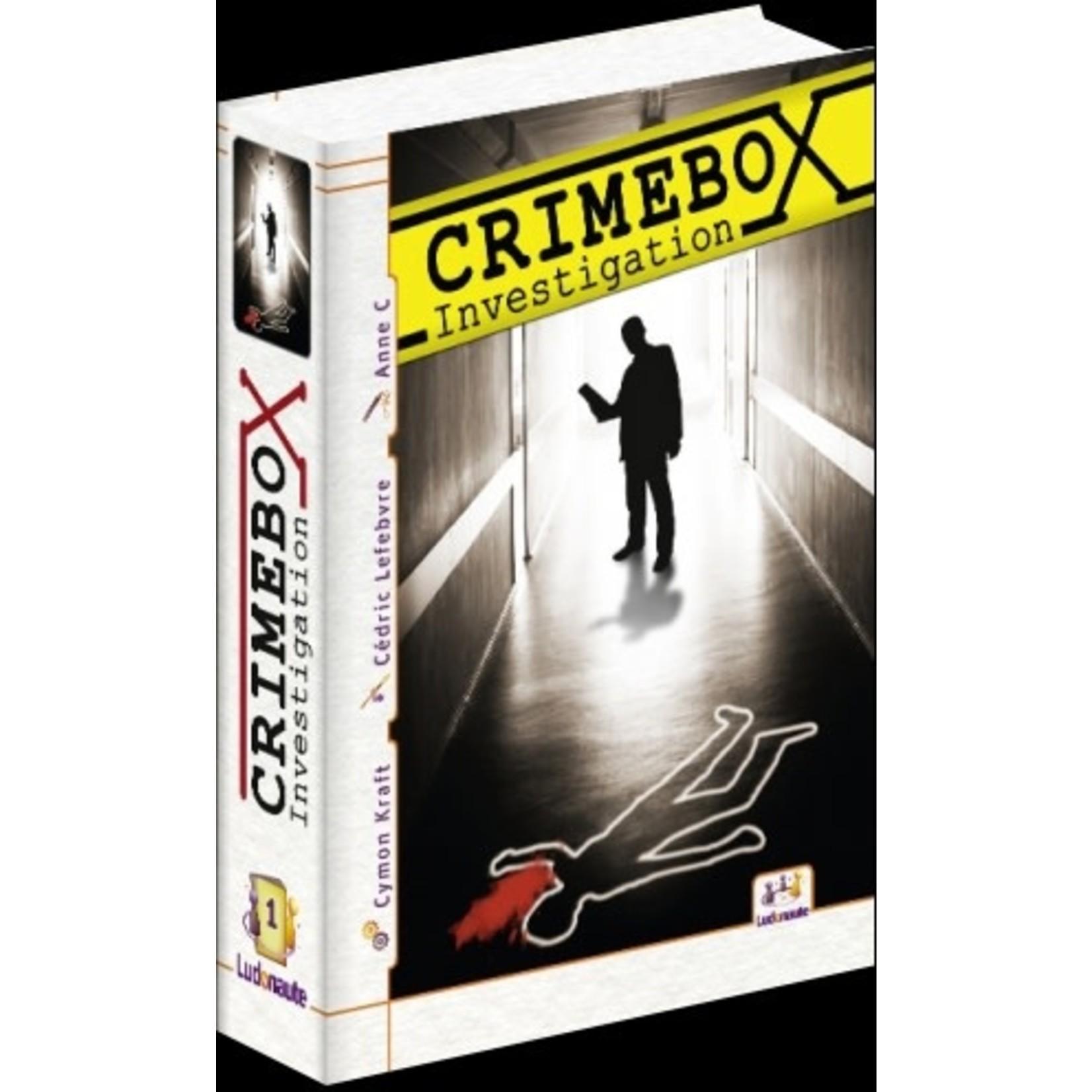 Ludonaute Crimebox Investigation (FR)