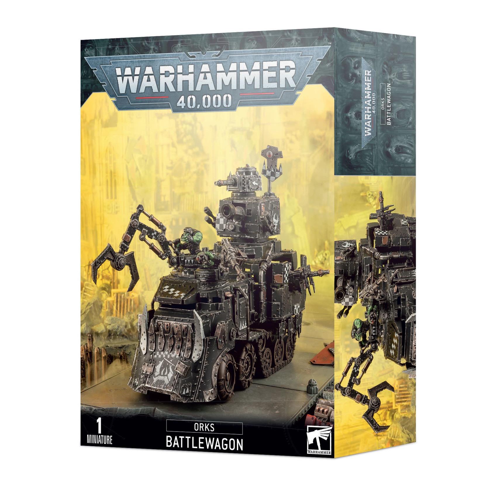 Warhammer 40K Orks - Battlewagon