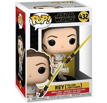 POP! Star Wars EP9 - Rey with Yellow Saber