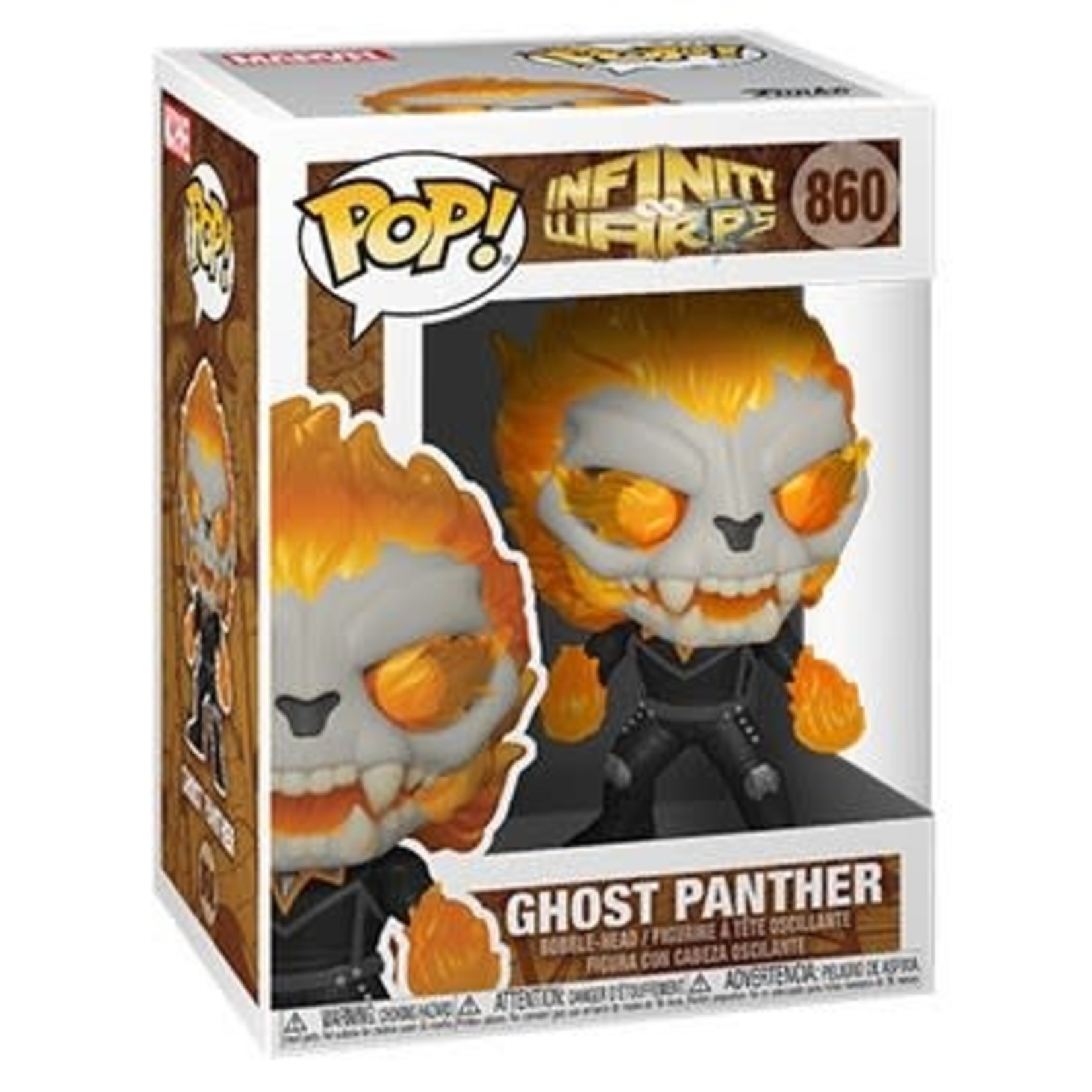Funko Pop! POP! Marvel Infinity Warps - Ghost Panther