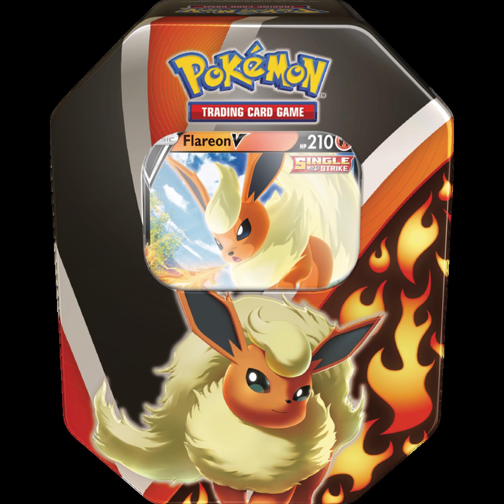 Pokemon Pokemon Eevee Evolutions V Tin  Flareon