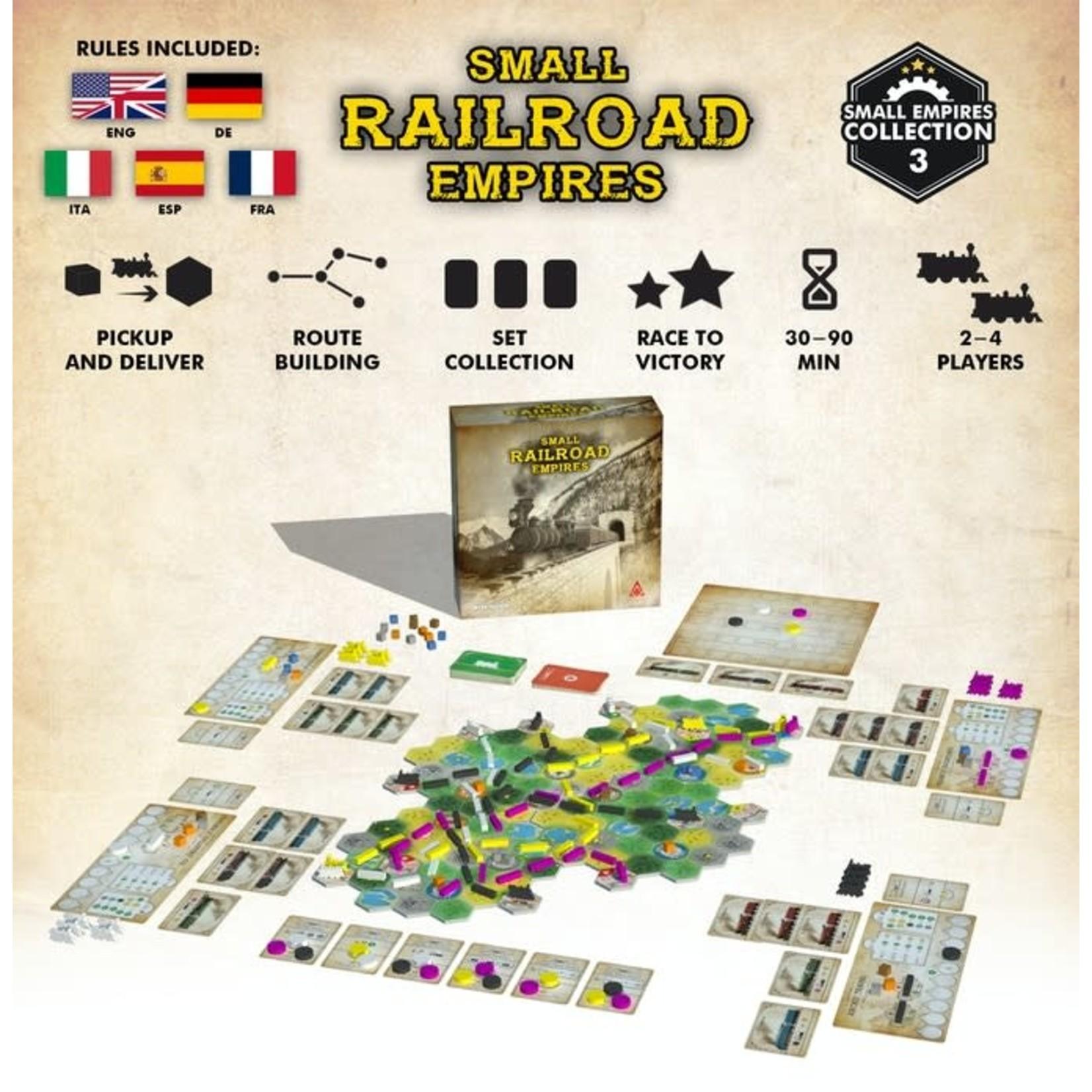 Archona Games Small Railroad Empires