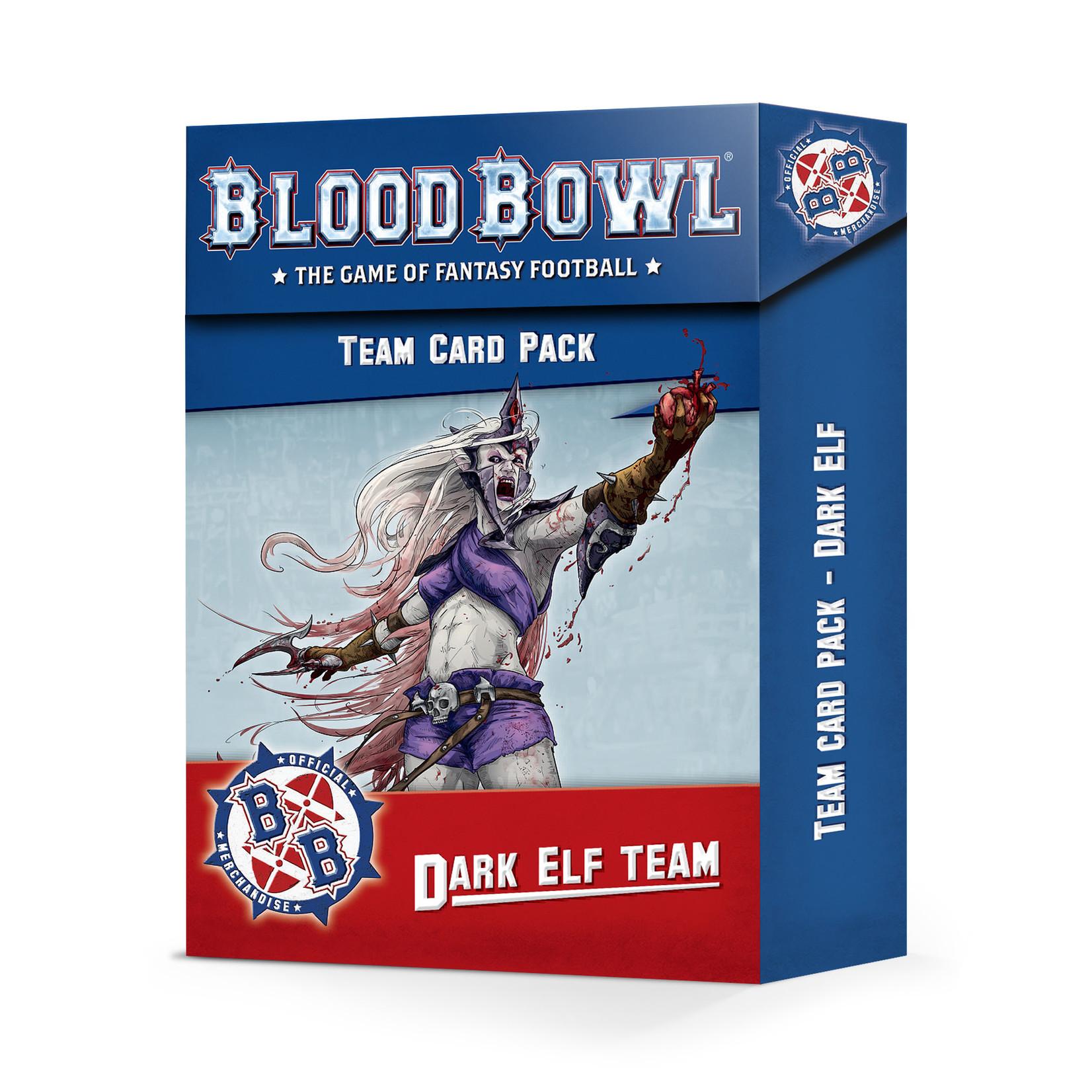 Blood Bowl BloodBowl - Dark Elf Team Card Pack