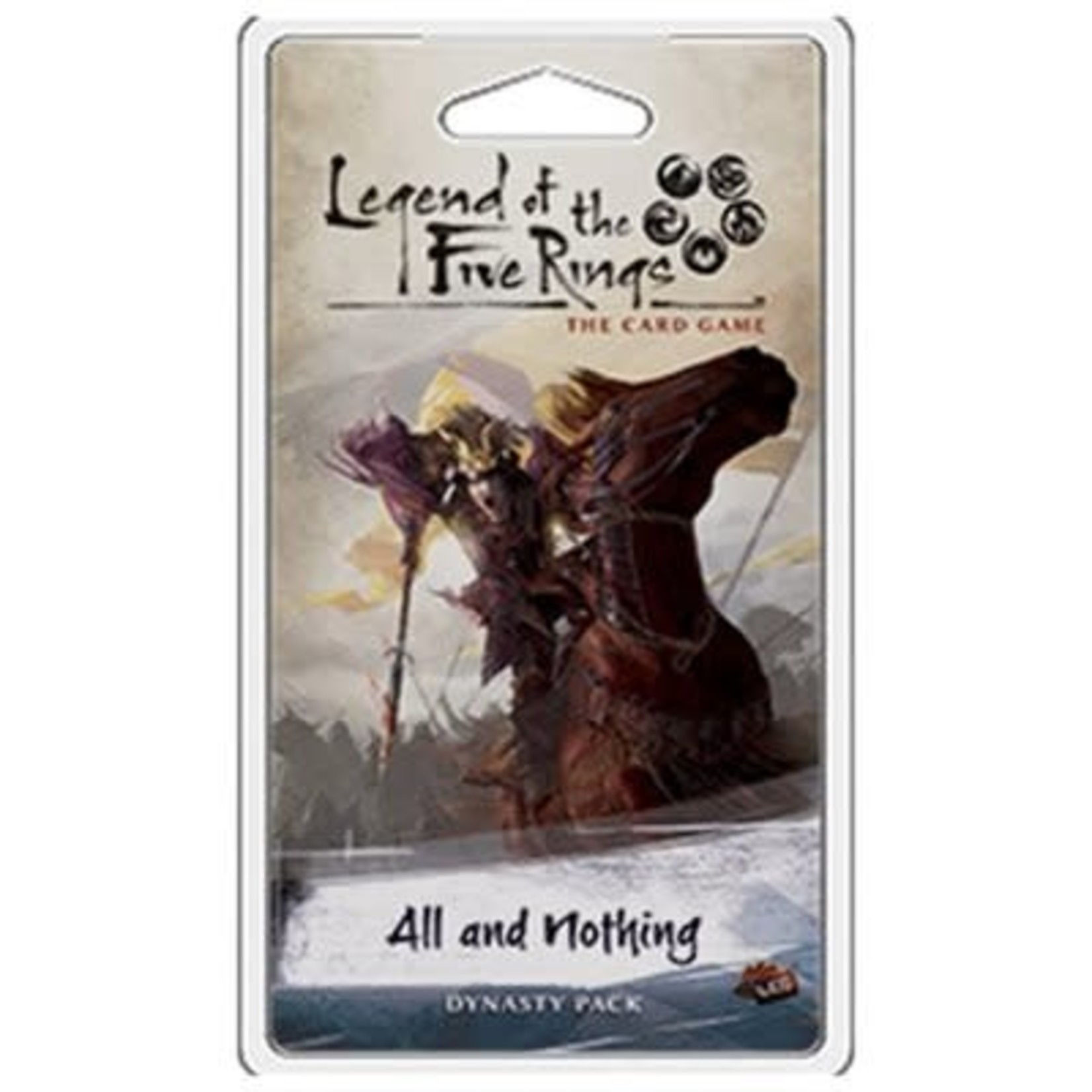 Fantasy Flight Games Legend of the five Rings All and nothing